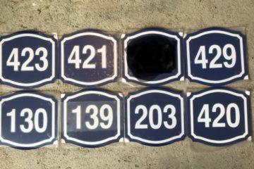 Номерные таблички